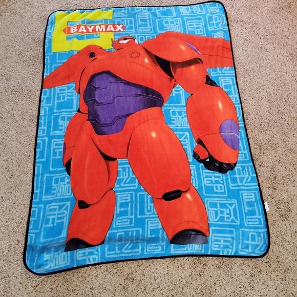 Disney Baymax throw blanket